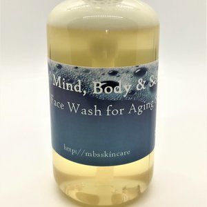 Face Wash for Aging/Mature Skin 8 Ounces